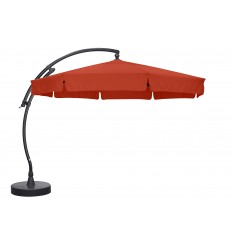 Sun Garden - Easy Sun cantilever parasol Classic with flaps - Olefin Terracotta canvas