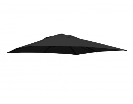 Olefin Carbone replacement canvas for Easy Sun parasol 320