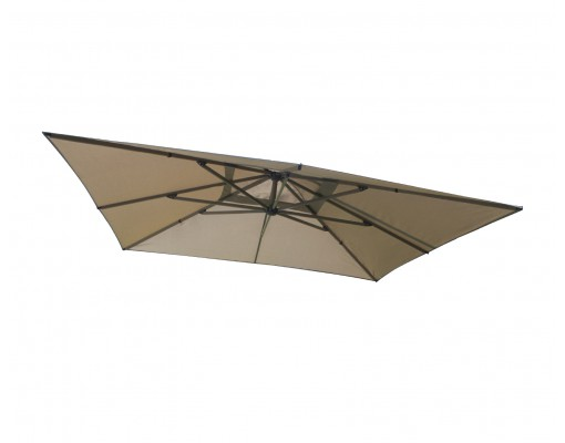 Olefin Taupe replacement canvas for Easy Sun parasol 320