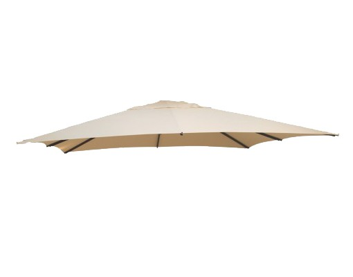 Polyester Beige replacement canvas for Easy Sun parasol 320