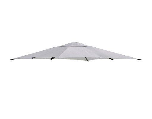 Replacement canvas in Polyester, light anthracite, for Easy Sun parasol 320