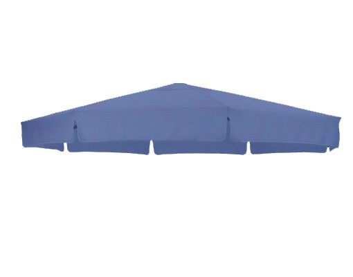 Replacement canvas in Olefin, petroleum blue, for Easy Sun parasol 350