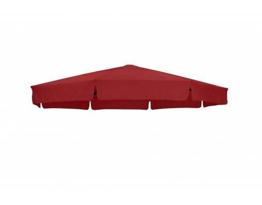 Replacement canvas in Olefin, bordeau, for Easy Sun parasol 350