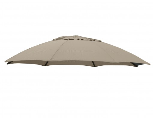 Olefin replacement canvas for Easy Sun parasol 375, light Taupe
