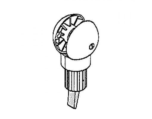 Complete white brake system for Easy Sun - Sun Garden parasol