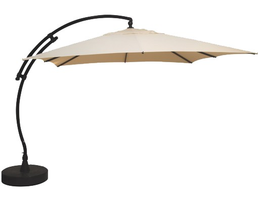 Sun Garden - Easy Sun cantilever parasol Square without flaps - Polyester Beige canvas