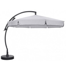 Sun Garden - Easy Sun cantilever Classic with flaps - Olefin light Grey canvas