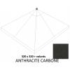Toile de remplacement carbon en Olefin pour parasol Easy Sun 320