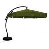 Sun Garden - Easy Sun cantilever parasol Classic with flaps - Olefin dark green canvas