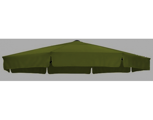 Replacement canvas in Polyester green, for Easy Sun parasol 350