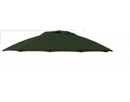 Olefin chocolat replacement canvas for Easy Sun parasol 375