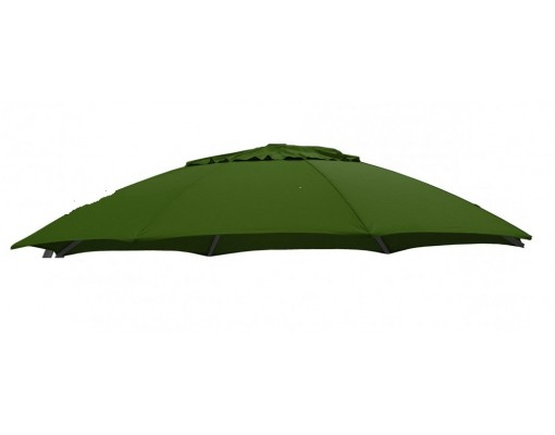 Olefin donker green replacement canvas for Easy Sun parasol 375