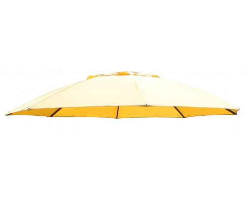 Olefin sunflower replacement canvas for Easy Sun parasol 375